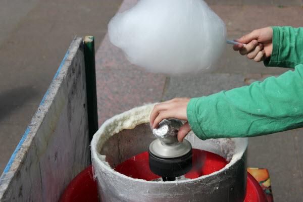 Виготовлення цукрової вати