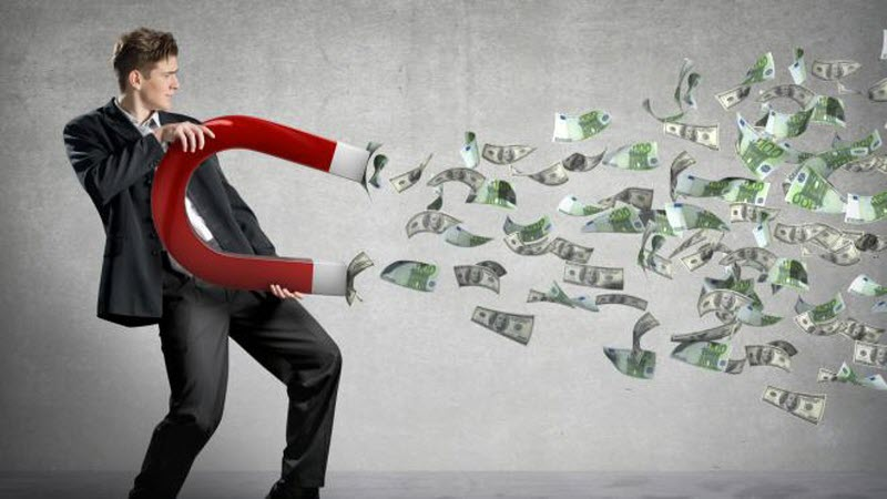 Притягування грошей