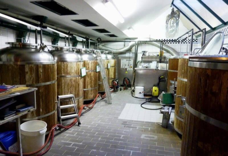 Приміщення пивоварні