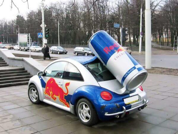 Автомобіль як засіб реклами