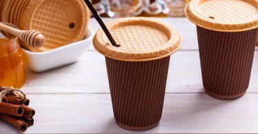 Кава в їстівних стаканчиках