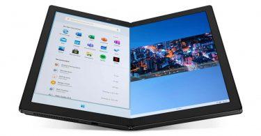 Lenovo анонсувала перший в світі ноутбук з гнучким дисплеєм