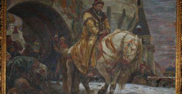 Картина Михайла Паніна Таємний від'їзд Івана Грозного