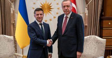 У Зеленського озвучили порядок денний візиту Ердогана