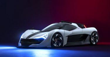 Apex Motors показала надшвидкий електрокар з незвичайним дизайном