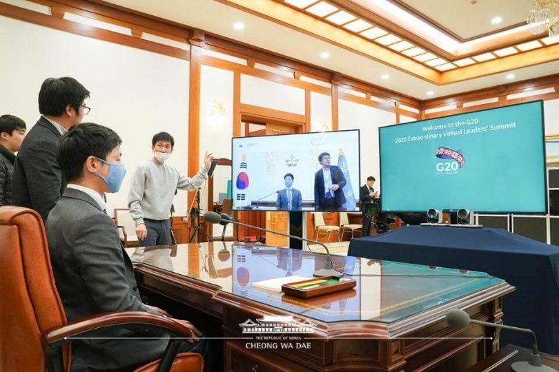 Онлайн-саміт лідерів G20