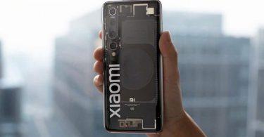 Xiaomi показала прозору версію флагманського Mi10