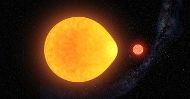 Виявлена зірка, передбачена 40 років тому
