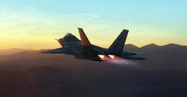 Можливості F-22 показали з кабіни пілота
