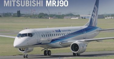 Фінальний прототип Mitsubishi SpaceJet MR90 здійснив перший політ