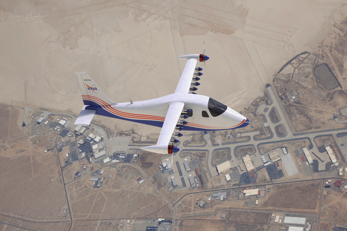 X-57 Maxwell