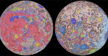 Геологи випустили сучасну карту поверхні Місяця