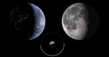 Дослідник показав вигляд на Землю з боку Місяця [ВІДЕО]