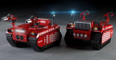 Створено робота для ефективного і безпечного гасіння пожеж [ВІДЕО]
