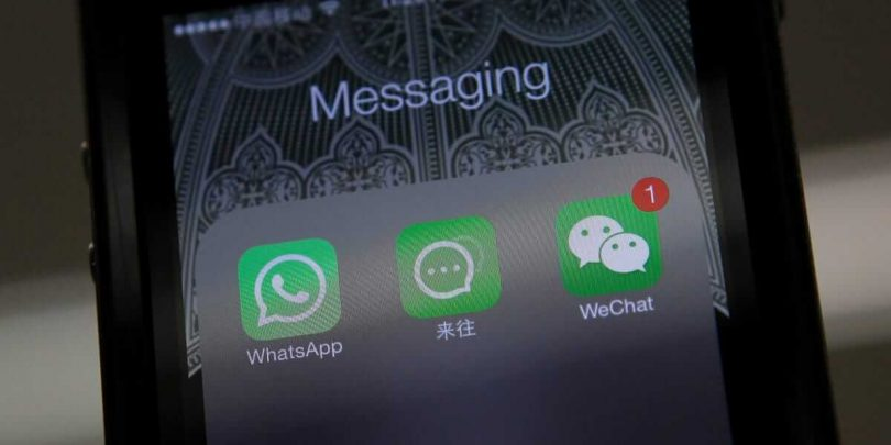 WeChat і WhatsApp