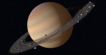 Знайдено пояснення незвичайній атмосфері Сатурна