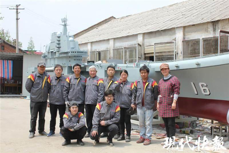 Моделісти-аматори з китайського міста Янчжоу