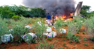 В Африці випадково збили літак з гуманітарною допомогою