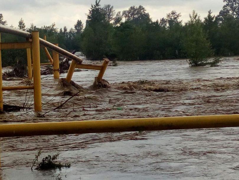 У Чернівецькій області пошкоджено газопровід