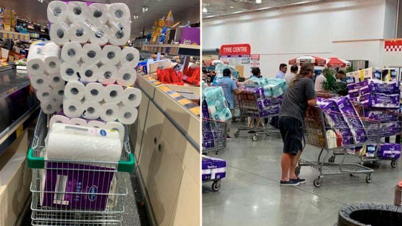 Скупка туалетного паперу