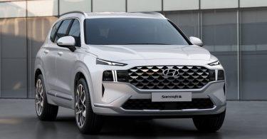 Hyundai розсекретив дизайн оновленого Santa Fe