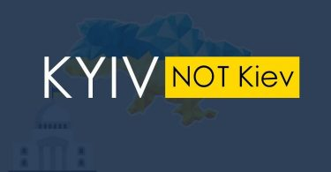 Kyiv замість Kiev