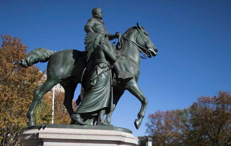 пам'ятник Теодору Рузвельту