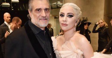 Леді Гага з батьком