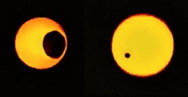NASA показало, як виглядають сонячні затемнення на Марсі: відео