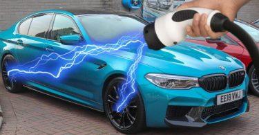BMW працює над електричним M5 з потужністю понад 1000 кінських сил