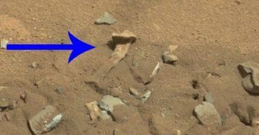 Звідки на Марсі взялися людські кістки