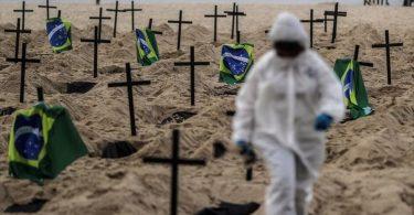 Бразилія стала другою у світі з жертв від COVID-19