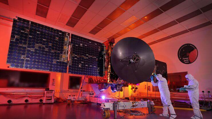 Перша арабська місія на Марс