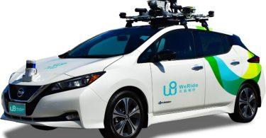 Перше роботаксі без водія з'явилося в Китаї