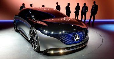 Електричний Mercedes націлився на рекордну дистанцію