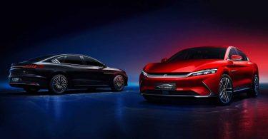 HUAWEI і BYD представили перший в світі автомобіль під керуванням HarmonyOS