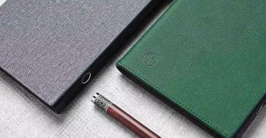 Xiaomi представила паперовий блокнот з датчиком відбитків пальців
