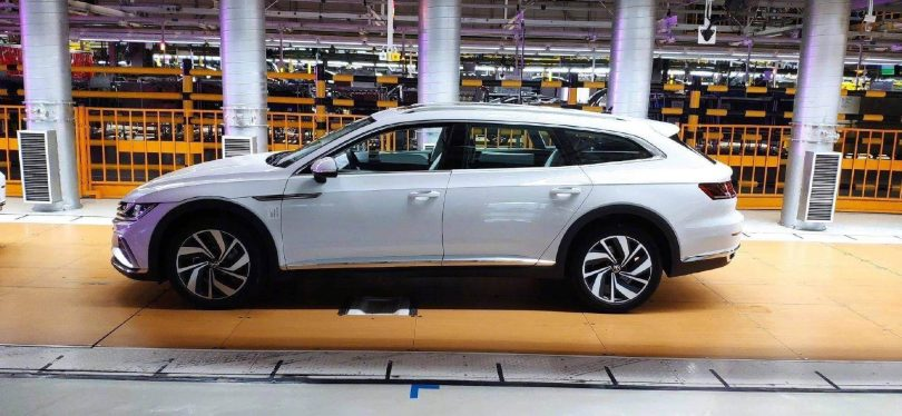 Volkswagen CC Shooting Brake