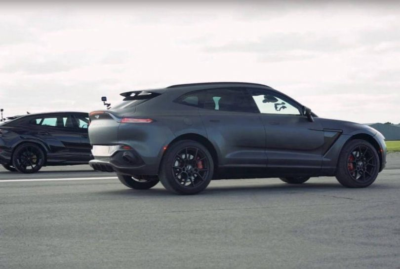 Aston Martin DBX порівняли з Lamborghini Urus
