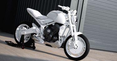В інтернеті з'явилися перше фото прототипу мотоцикла Triumph Trident