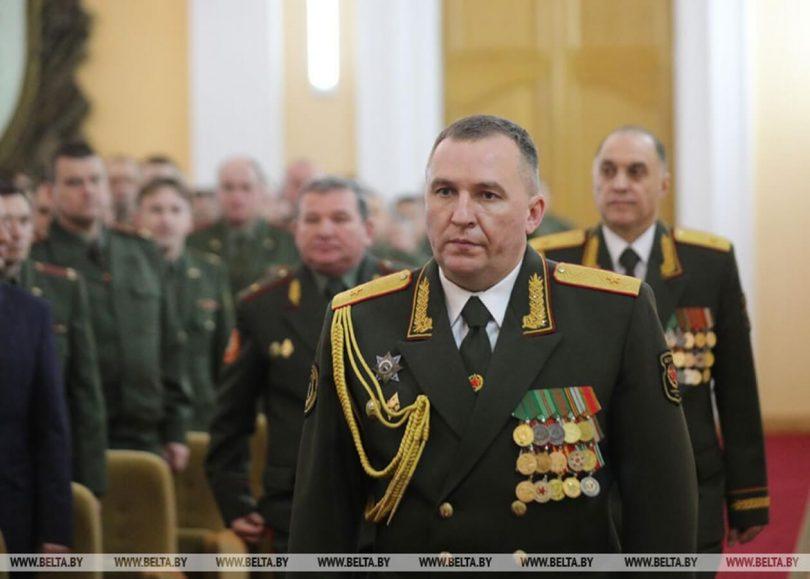Міністр оборони Білорусі Віктор Хренін