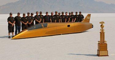 Встановлено новий світовий рекорд швидкості пересування на землі