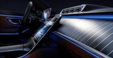 Mercedes-Benz розповів про інноваційне підсвічування салону нового S-Class
