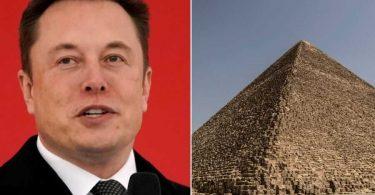 Ілон Маск сказав, що піраміди в Єгипті побудували інопланетяни