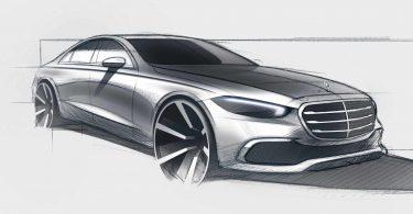 Розсекречена зовнішність нового Mercedes-Benz S-Class