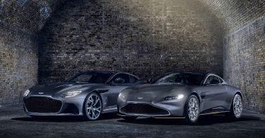 Aston Martin показав нові спорткари для Джеймса Бонда