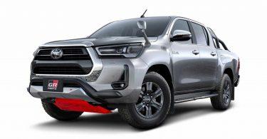 Оновлений Toyota Hilux отримав перший тюнінг