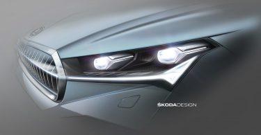 Skoda показала «кришталеву» оптику електрокроссовера Enyaq
