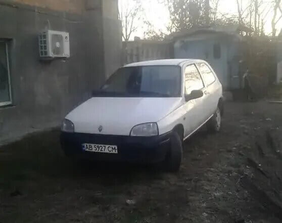 Renault Clio за 1500 євро.