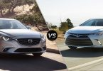 Toyota Camry vs Mazda 6